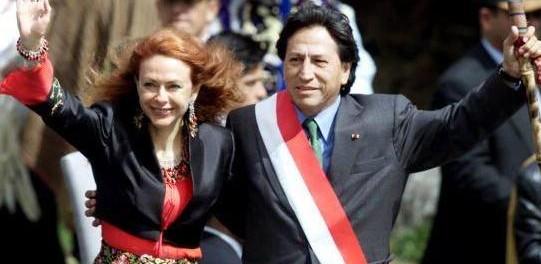 ElianeKarp&AlejandroToledo