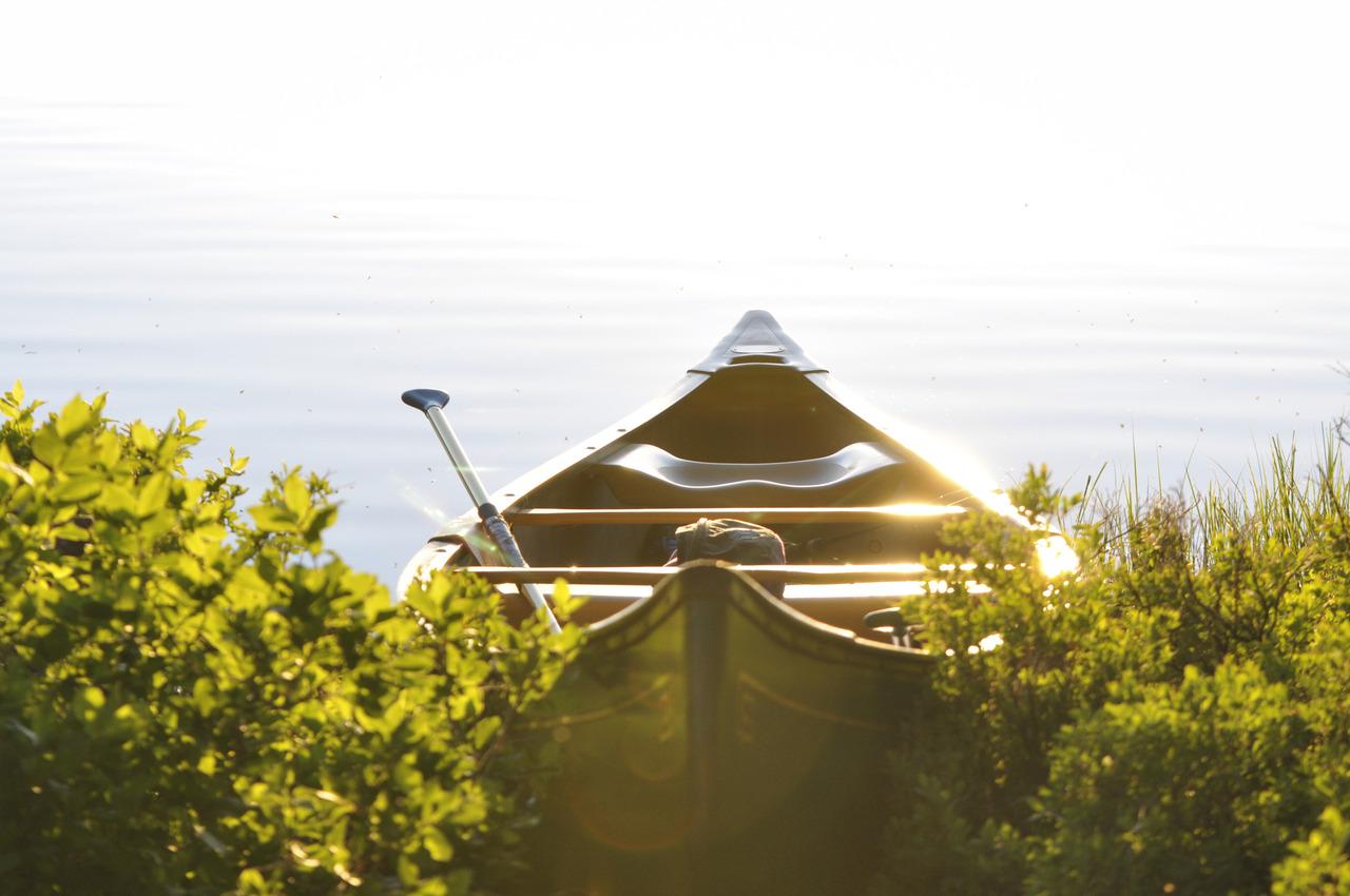 Boat&LakeByMichael Quinn
