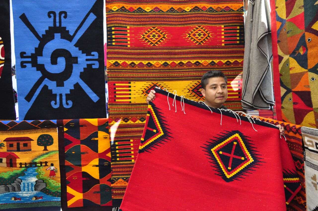 Muestra de Textiles de Oxaca