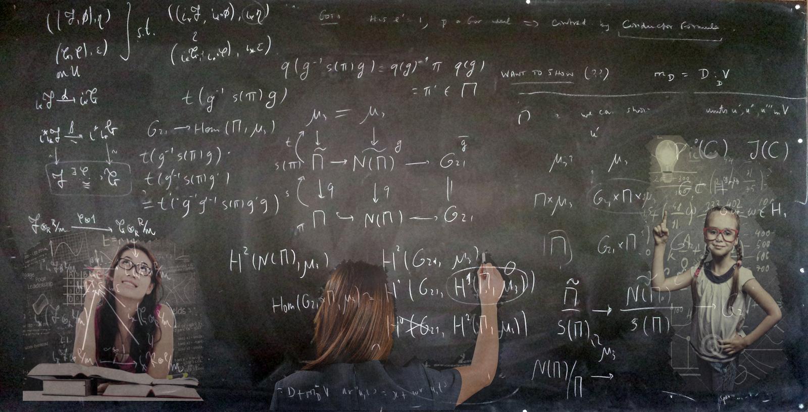math-girls-Blackboard