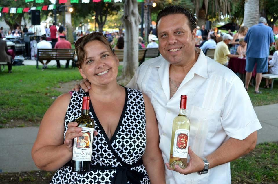 Becky y Ramon Sandoval, Fundadores de Vino con Amigos