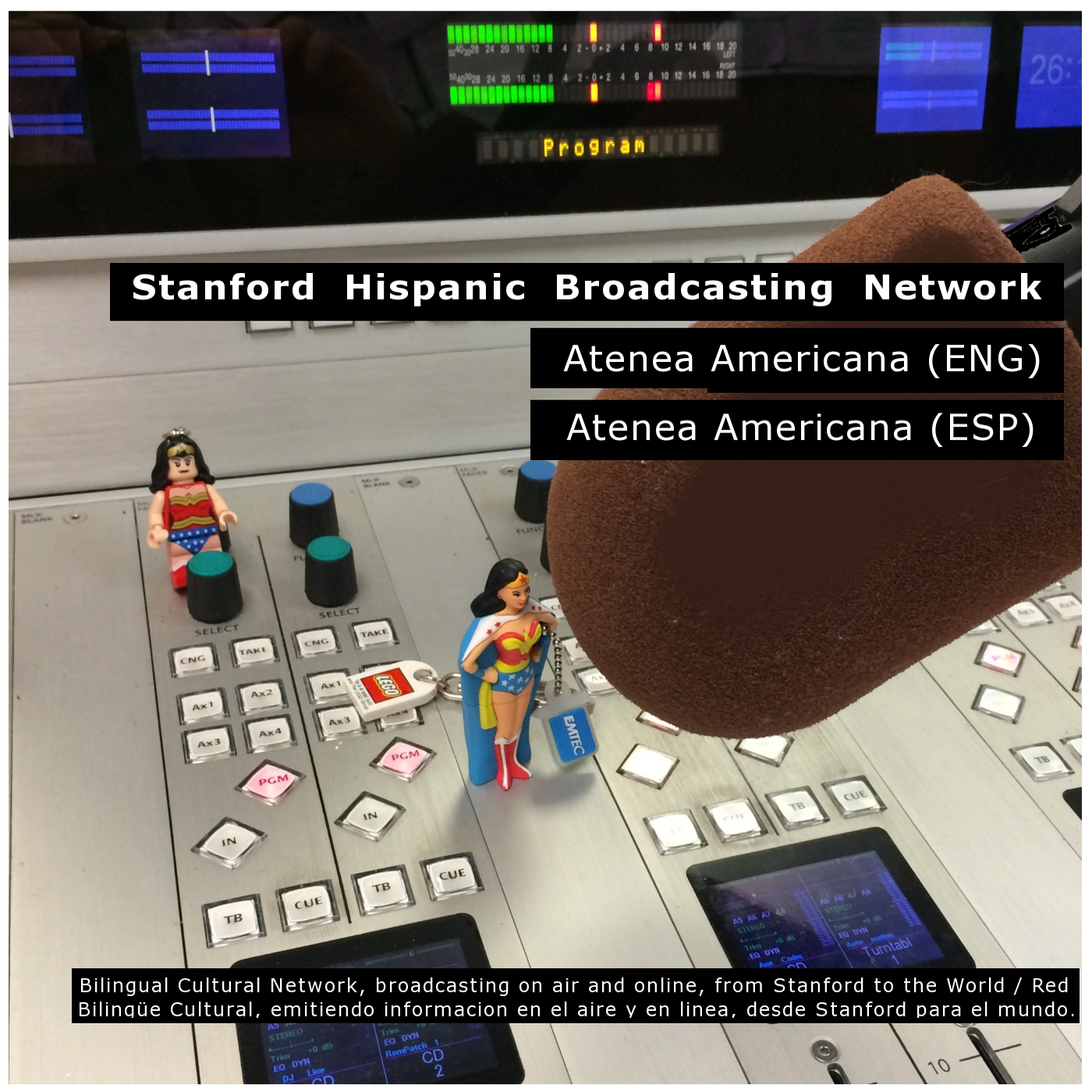 Atenea Americana - by Stanford Hispanic Broadcasting